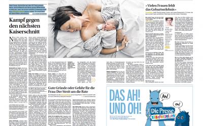 """""""Kampf gegen den nächsten Kaiserschnitt"""""""