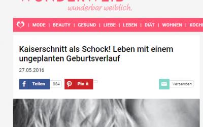 """""""Kaiserschnitt als Schock! Leben mit einem ungeplanten Geburtsverlauf"""""""